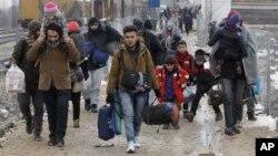Photo uniquement à titre d'illustration : Près de 40.000 civils ont fui l'offensive du régime syrien au nord de la métropole septentrionale d'Alep.