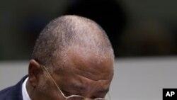 Լիբերիայի նախկին նախագահ Չարլզ Թեյլոր, 26 ապրիլի 2012թ.