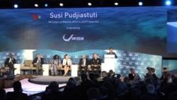 Susi Pudjiastuti di Konferensi 'Our Oceans'