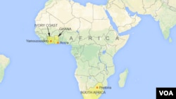 Ramani ya Afrika