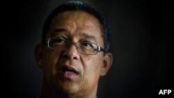Robert McBride, director do Departamento Externo da Agência de Segurança sul-africana (SSA)
