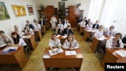 В українській школі