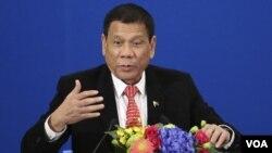 菲律宾总统杜特尔特(资料照)