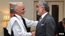 Ашраф Гани и Абдулла Абдулла