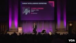미 국토안보부 산하 사이버안보 기간시설 안보국 (CISA)의 크리스 크렙 국장이 24일 사이버 전문 매체 '사이버 스쿱'이 개최한 연례 사이버 안보 컨퍼런스에서 연설했다.