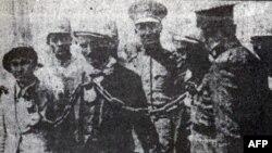 Olaylar sırasında tutuklanan aşiret liderleri
