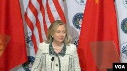 Menteri Luar Negeri Amerika Hillary Clinton (7/3)