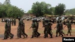 Pasukan Nigeria dikerahkan untuk memerangi kelompok militan Boko Haram (foto: 20/5).