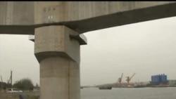 2013-03-13 美國之音視頻新聞: 黃浦江發現接近六千隻死豬