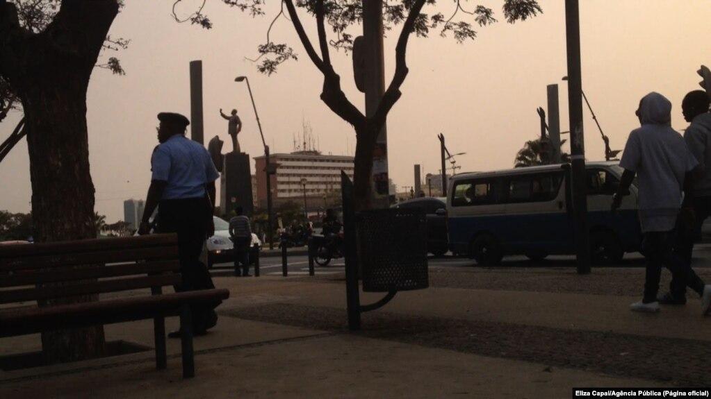 b6a300e98bba3 Centro comercial em Luanda reforça segurança