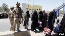په عراق کې د امریکایي پوځیانو ماموریت