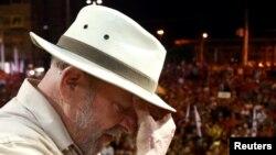 Lula da Silva em acto de massas Rio Grande do Sul