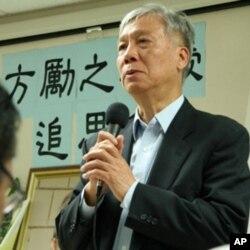 朱耀明一直争取流亡人士回国