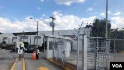 Parque industria de la ciudad de Guatemala donde se adecuará un hospital de contingencia. (Foto: Eugenia Sagastume).