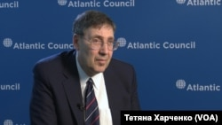 FILE - John Herbst, director of the Atlantic Council's Dinu Patriciu Eurasia Center, served for 31 years as a foreign service officer in the U.S. Department of State.