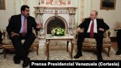 En el encuentro bilateral Maduro reiteró su apoyo a Rusia que atraviesa severos problemas económicos.