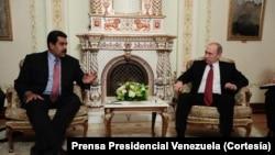 Tư liệu: TT Venezuela Nicolas Maduro được TT Nga tiếp đón ở điện Kremlin. (Courtesy: Presidential Press of Venezuela)