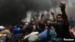 Протести палестинців проти перенесення посольства США до Єрусалиму