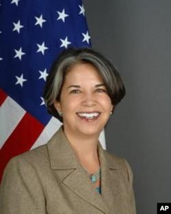 負責平民安全的美國國務次卿瑪麗亞‧奧特羅