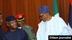 ABUJA: Buhari at ERGP Launching