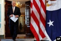 ABŞ dövlət katibi Reks Tillerson