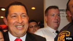 President of Venezuela, Hugo Chavez, at the 64a General Assembly of the ONU.