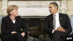 صدر اعظم آلمان، قانون گذاران آمریکا را به کوشش برای خراب کردن دیوارهای قرن بیست و یکم فرا می خواند