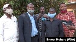 Lipinga lya lingomba FPDC lya basimba minduki yambo na likita lya Search for Common Ground na Murhesa, Sud-Kivu, 11 septembre 2020 (Ernest Muhero)