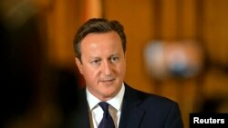 FILE - Britain's Prime Minister David Cameron, September 14, 2014.