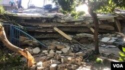 Operação de resgate em Les Cayes, 14 de Agosto, Foto: Matiado Vilme / VOA