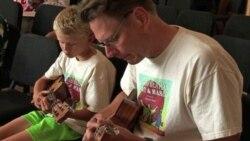 Гавайская гитара не всегда звучит жалобно