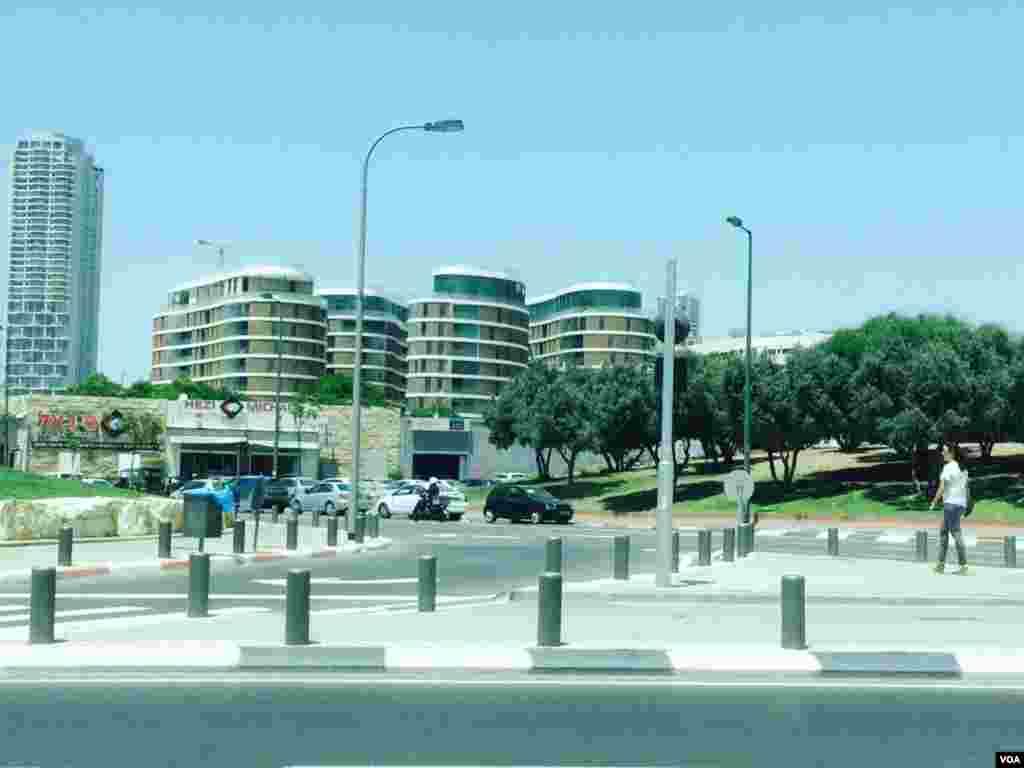 نمایی از شهر تل آویو پایتخت اسرائیل