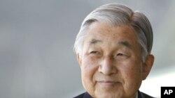 日本明仁天皇。