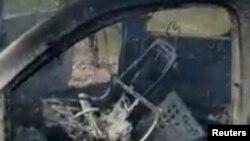 Un activista de la comunidad mormona de EE.UU. en México aseguró que sus familiares localizaron la camioneta en el lugar del ataque prácticamente del todo calcinada y con los cuerpos de una mujer y cuatro menores.