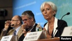 Lagarde ha sugerido sus recetas para los EE.UU. durante la presentación del informe anual del FMI sobre el país, en su sede en Washington DC.