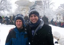 Snowball Battle Helps Washington Beat Blizzard Blahs