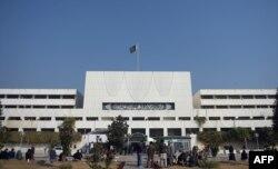 اسلام آباد میں پارلیمنٹ کی عمارت، فائل فوٹو