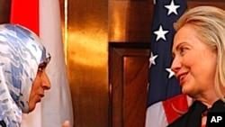 Tawakkul Karman i Hillary Clinton u Državnom tajništvu