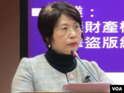 台湾执政党国民党立委陈碧涵 (美国之音张永泰)