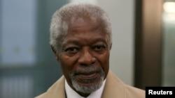 Kofi Annan BMTga ikki muddat rahbarlik qilgan.