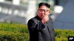 """Corea del Norte denunció a Estados Unidos por llevar a la región """"enormes activos estratégicos nucleares""""."""