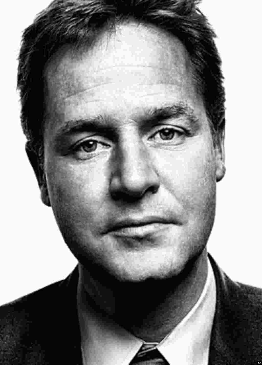 Nick Clegg, deputy prime minister of England