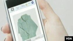 Dalam lima tahun, saat membeli pakaian dari Internet, kita bisa merasakan bahan pakaiannya, menurut para ilmuwan. (Foto: VOA)