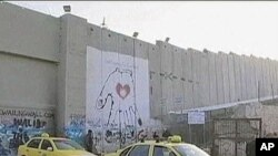 Israel put up this security barrier to protect itself from terrorist attacks by West Bank Palestinians, Oct 2010