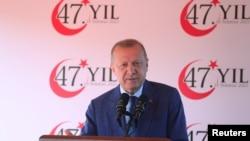 Serokê Tirkîyê Recep Tayyîp Erdogan