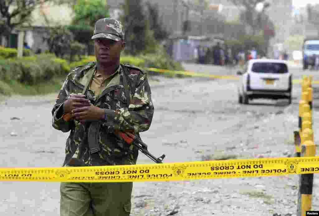 Keniyada hujumlar ortidan xavfsizlik choralari kuchaytirilgan.