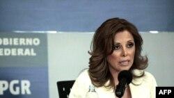 Meksikanın baş prokuroru Marisela Morales