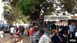 RCA- Deplacés à Boy-rabe au nord de Bangui.