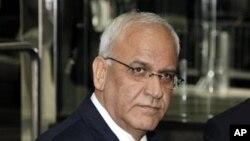 Saeb Erakat, ketua tim perunding Palestina, menyatakan bahwa Israel akan segera membebaskan 26 tahanan Palestina, 13 Agustus mendatang (Foto: dok).