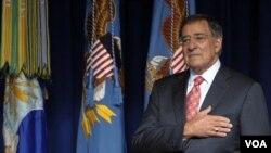 Menteri Pertahanan Amerika Leon Panetta (foto:dok).